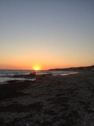 ah, sunset